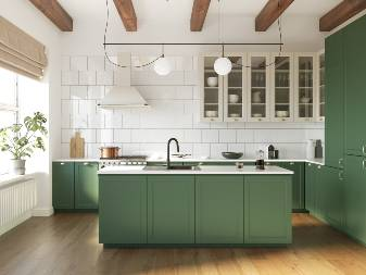 Kitchen islands appeal to 24 percent